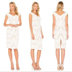 Cinq a Sept Aveline Dress in Ivory